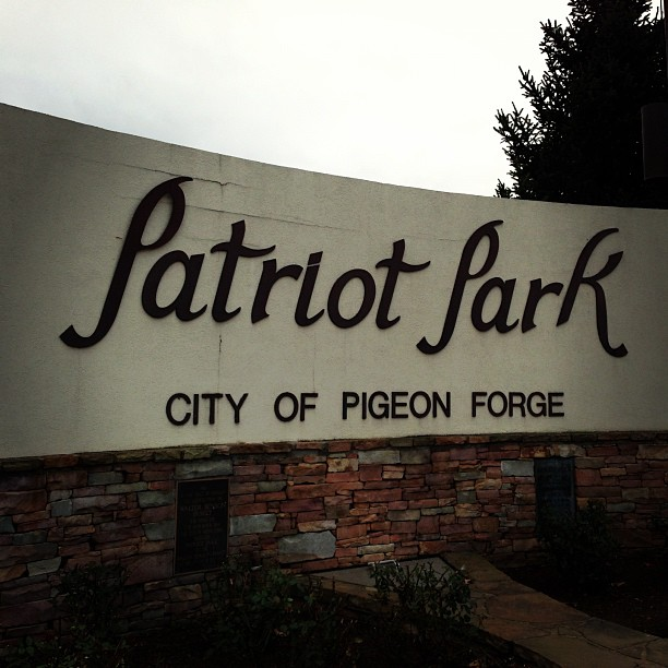 Pigeon Forge Things To Do - Patriot Park - Original Photo