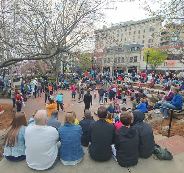 Asheville Things To Do - Pritchard Park - Original Photo