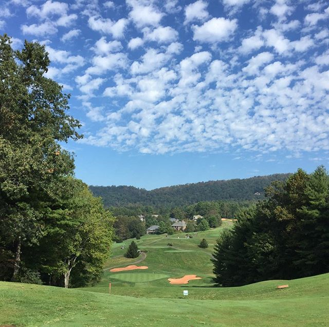 Asheville Things To Do - Reems Creek Golf Club - Original Photo