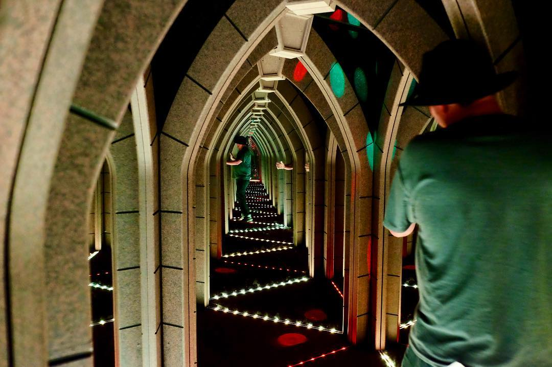 Gatlinburg Things To Do - Ripley's Mirror Maze - Original Photo