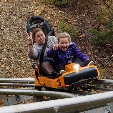 Pigeon Forge Things To Do - Rocky Top Mountain Coaster - Original Photo