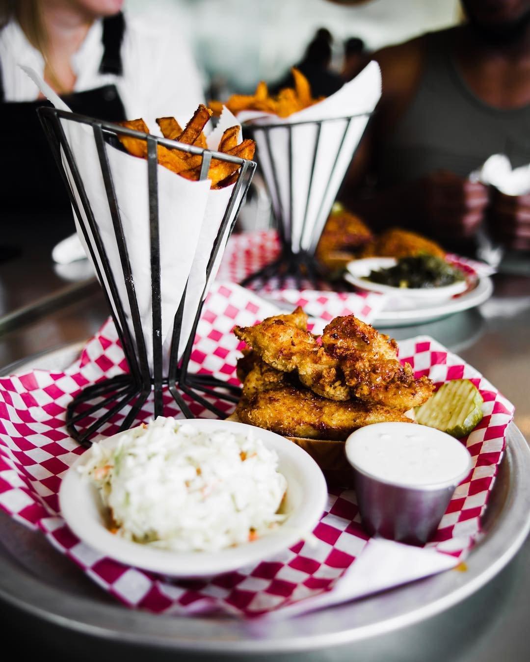 Asheville Restaurants - Rocky's Hot Chicken Shack (Patton Location) - Original Photo