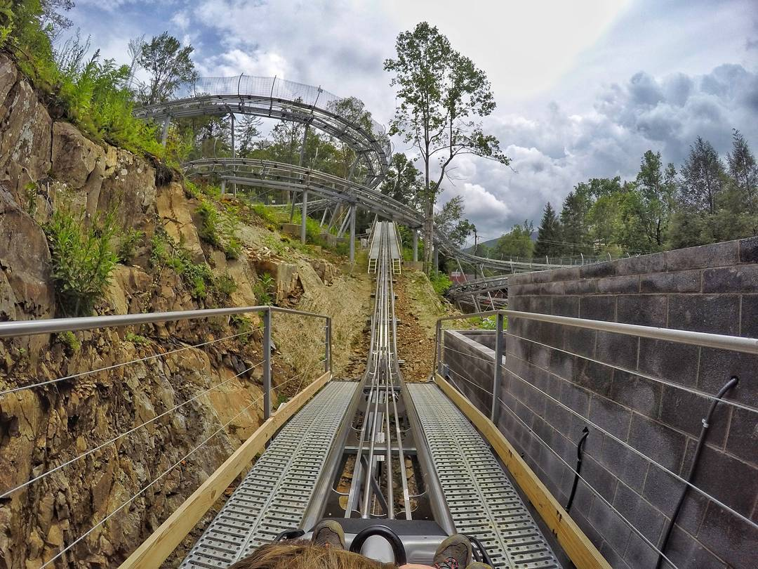 Review Of Rowdy Bear Mountain Coaster In Gatlinburg