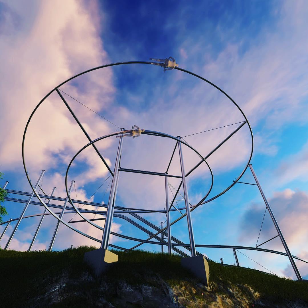 Gatlinburg Things To Do - Rowdy Bear Mountain Coaster - Original Photo