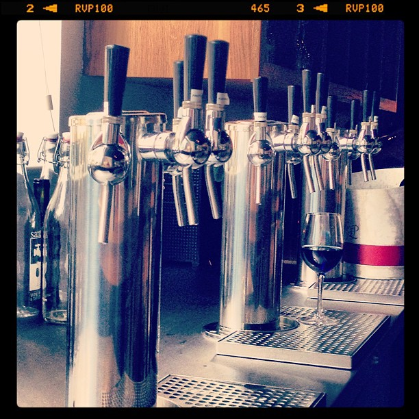 Asheville Restaurants - Santé Wine Bar and Tap Room at Grove Arcade - Original Photo