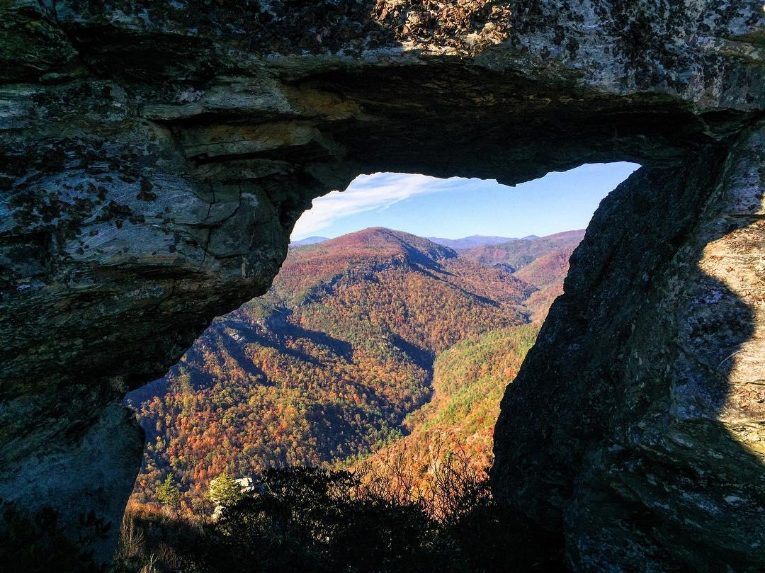 Asheville Hikes - Shortoff Mountain Trail - Original Photo