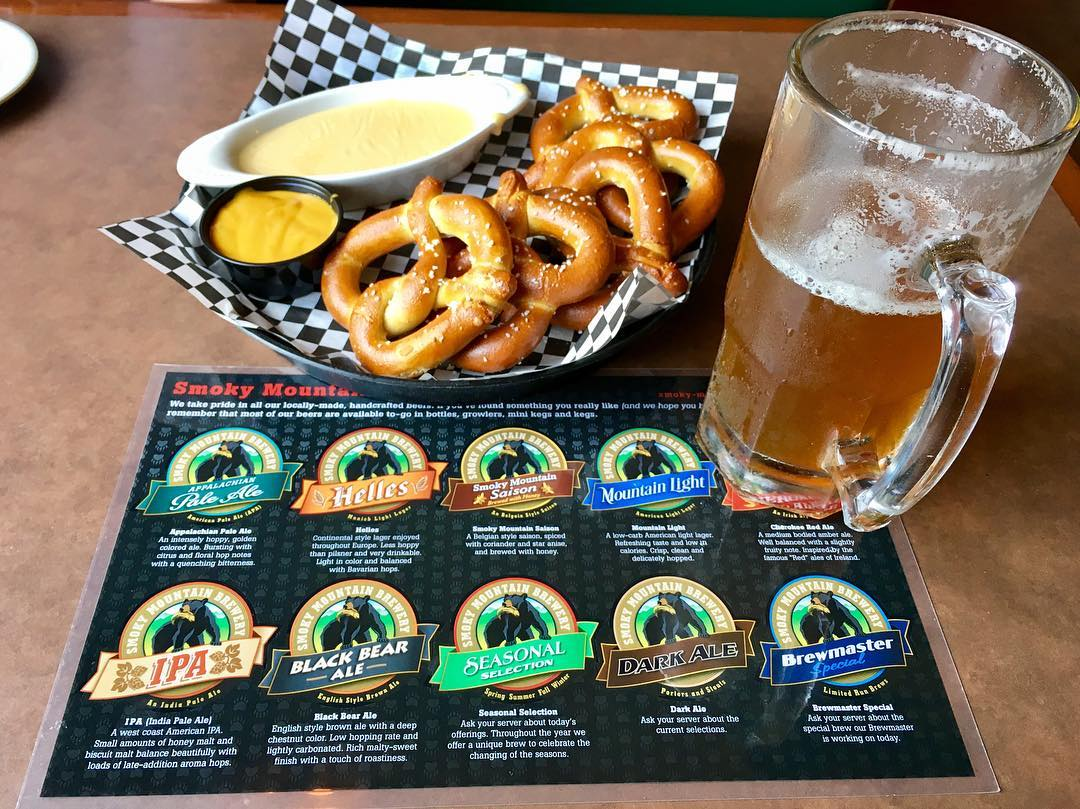 Pigeon Forge Restaurants - Smoky Mountain Brewery - Original Photo
