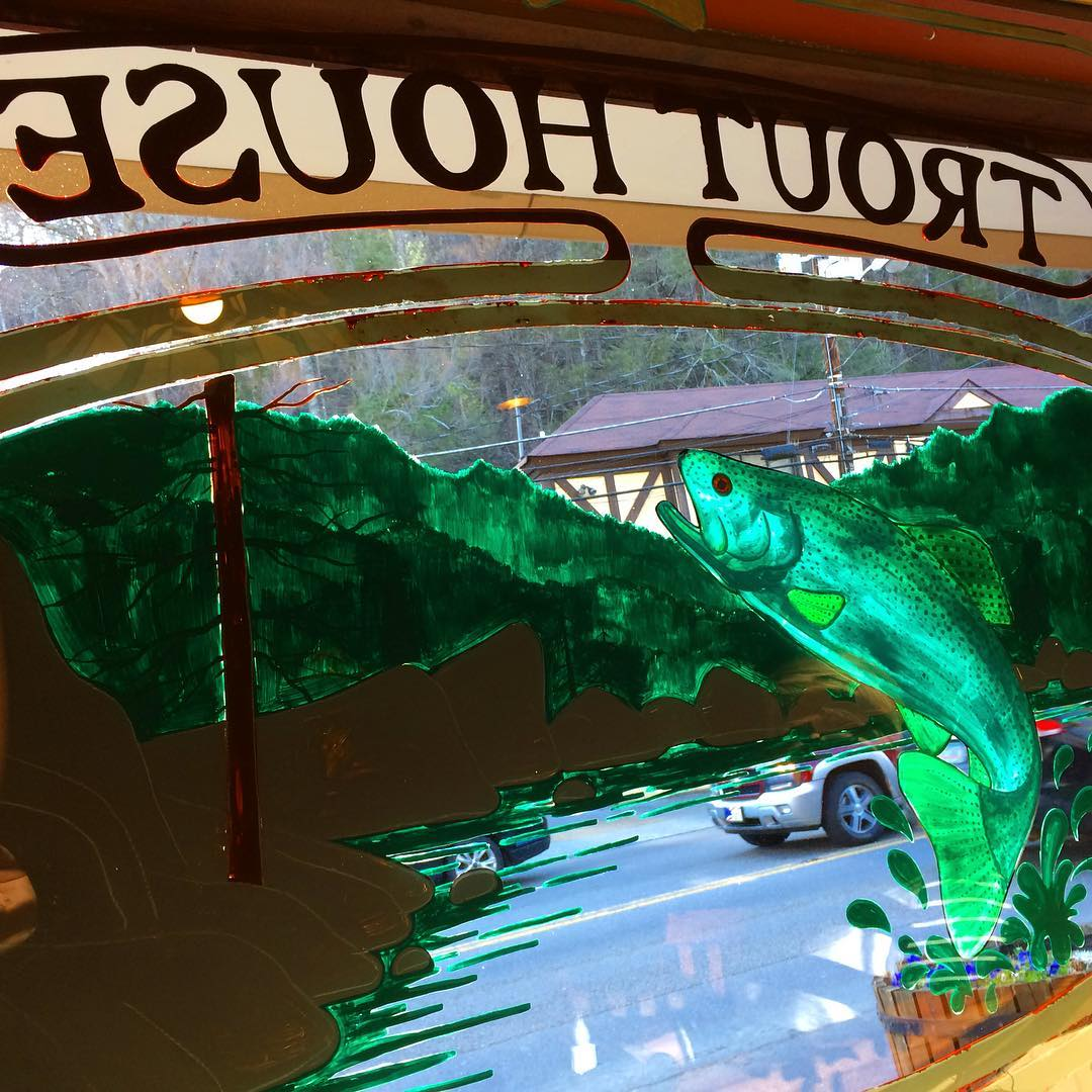 Gatlinburg Restaurants - Smoky Mountain Trout House - Original Photo
