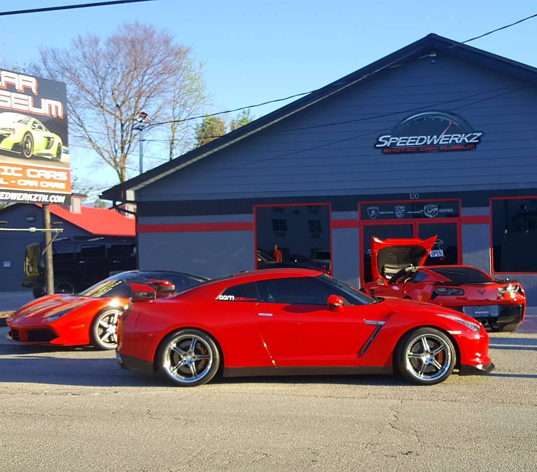 Pigeon Forge Things To Do - Speedwerkz Exotic Car Museum - Original Photo