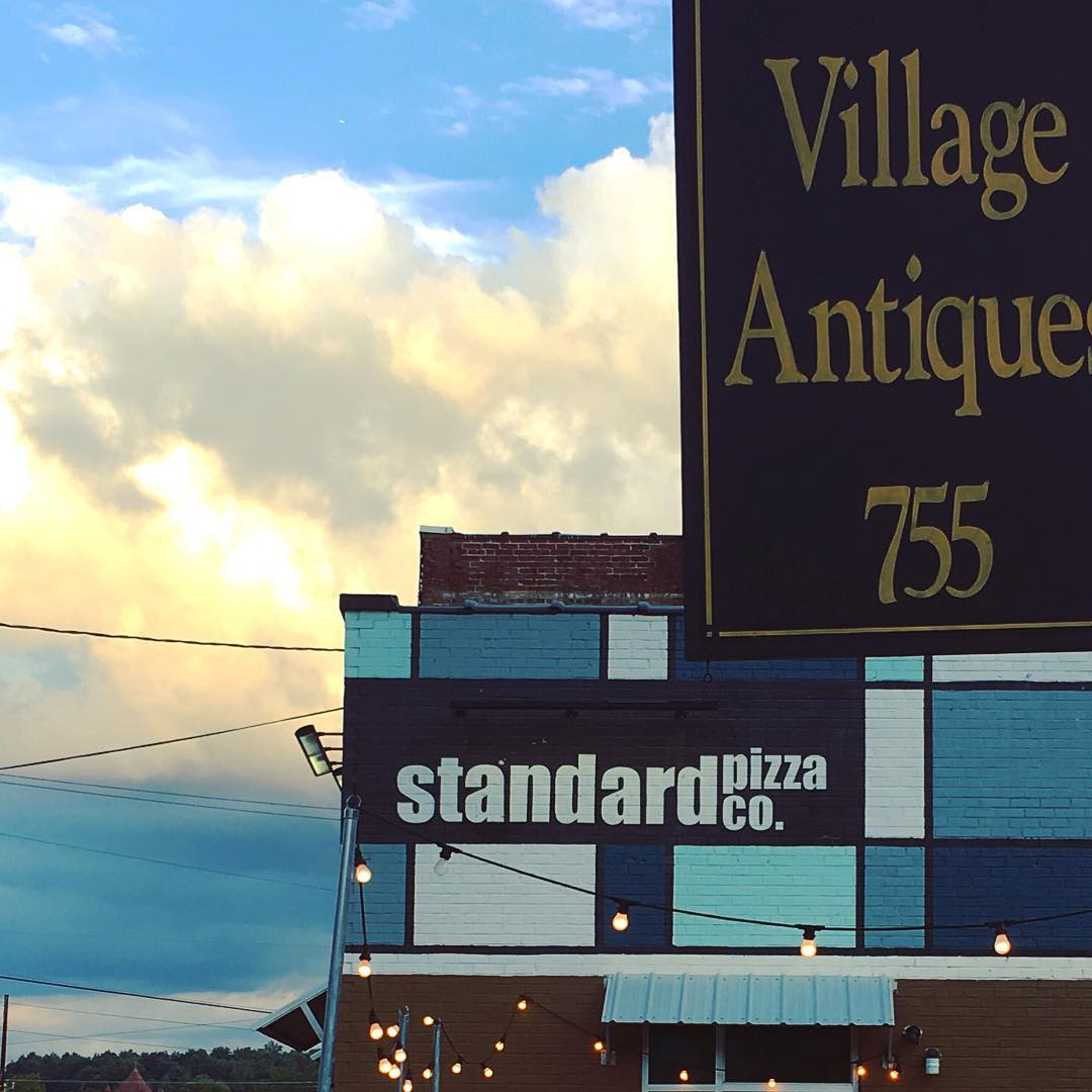 Asheville Restaurants - Standard Pizza on Biltmore Avenue - Original Photo