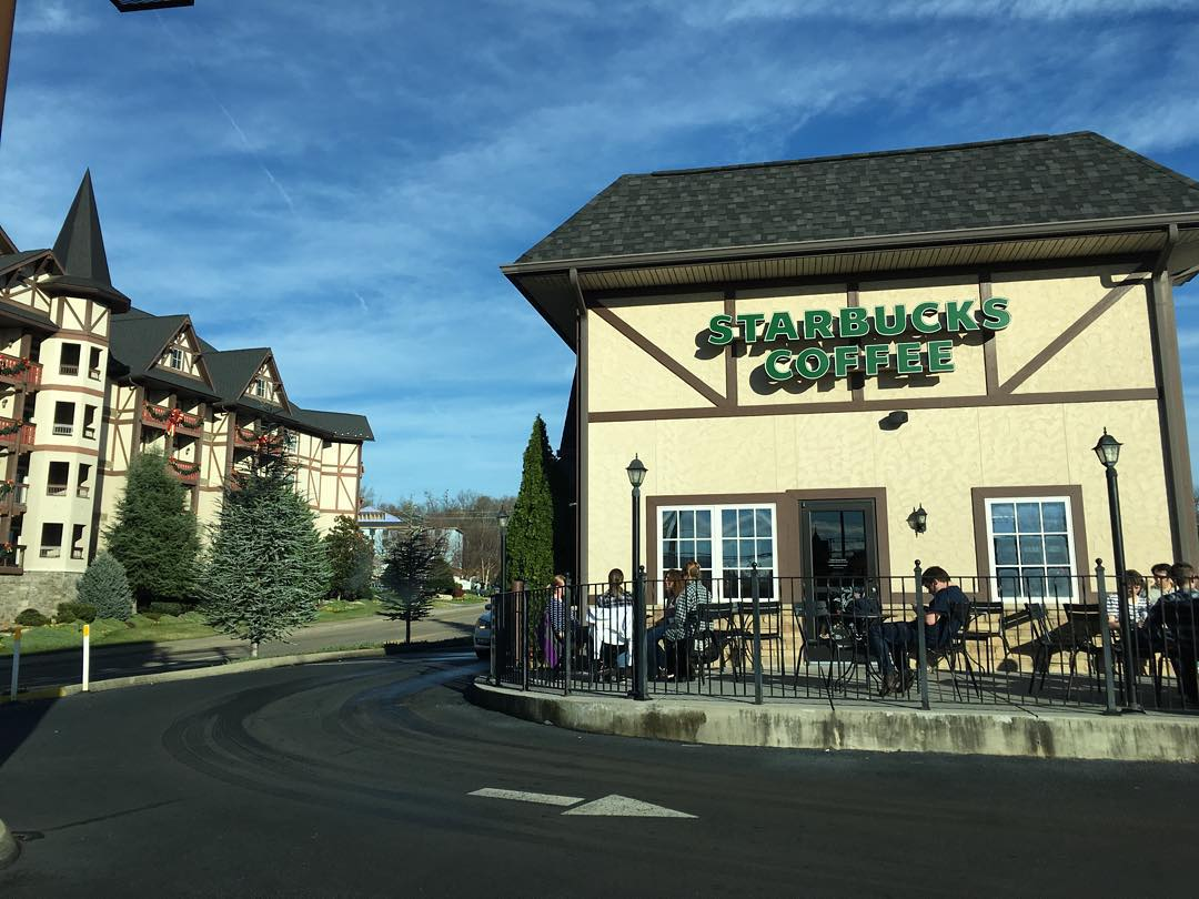 Pigeon Forge Restaurants - Starbucks Pigeon Forge - Original Photo
