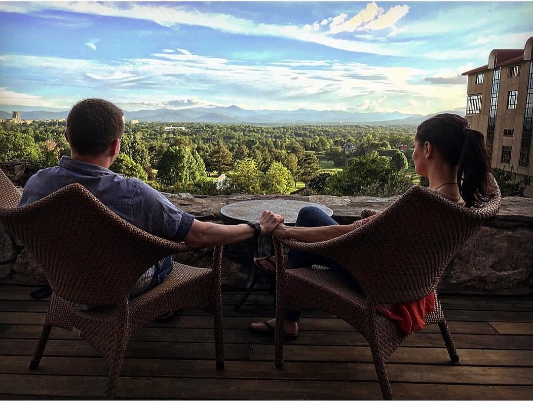 Asheville Restaurants - Sunset Terrace - Original Photo