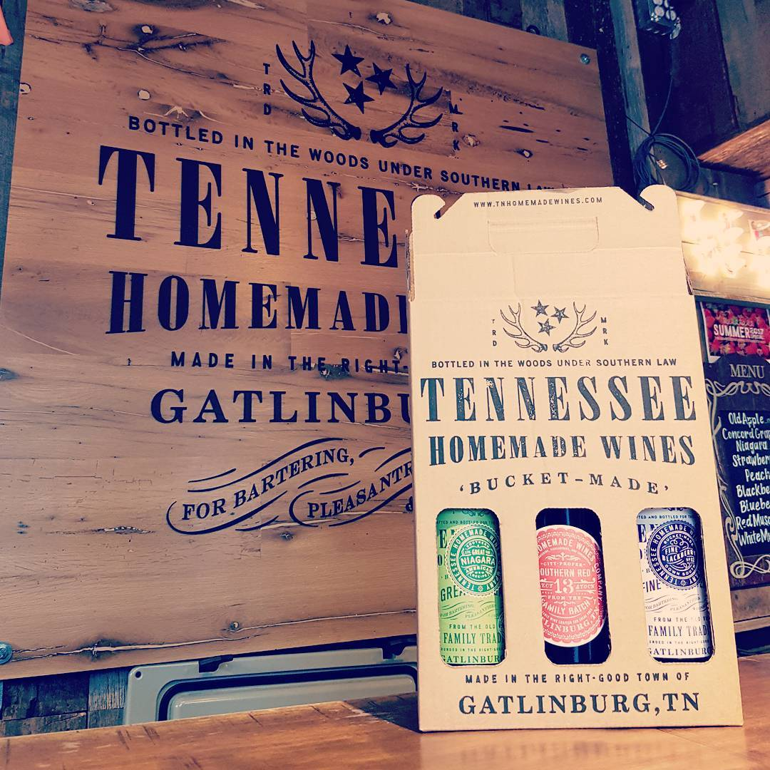 Gatlinburg Things To Do - Tennessee Homemade Wines - Original Photo