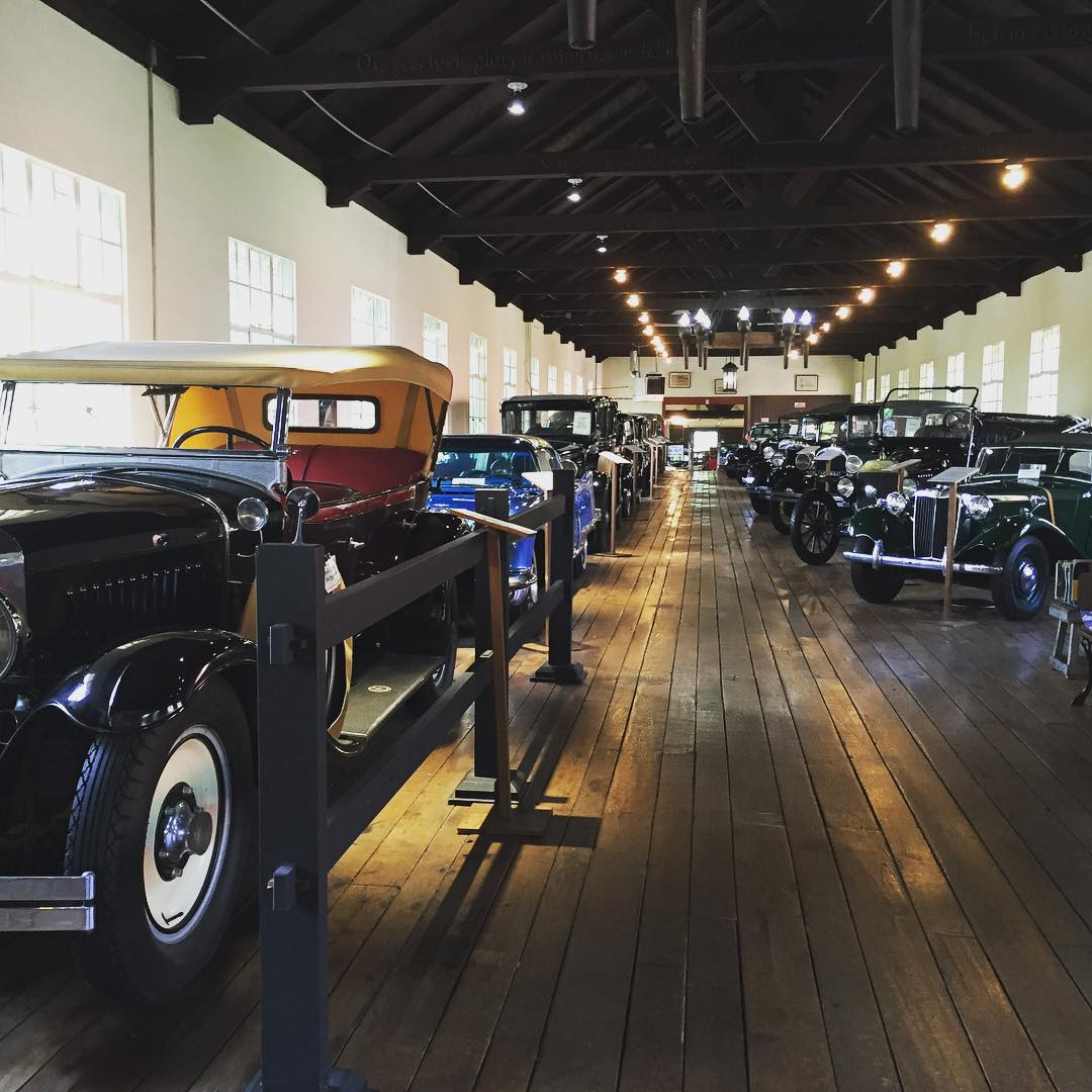 Asheville Things To Do - The Antique Car Museum at Grovewood Village - Original Photo