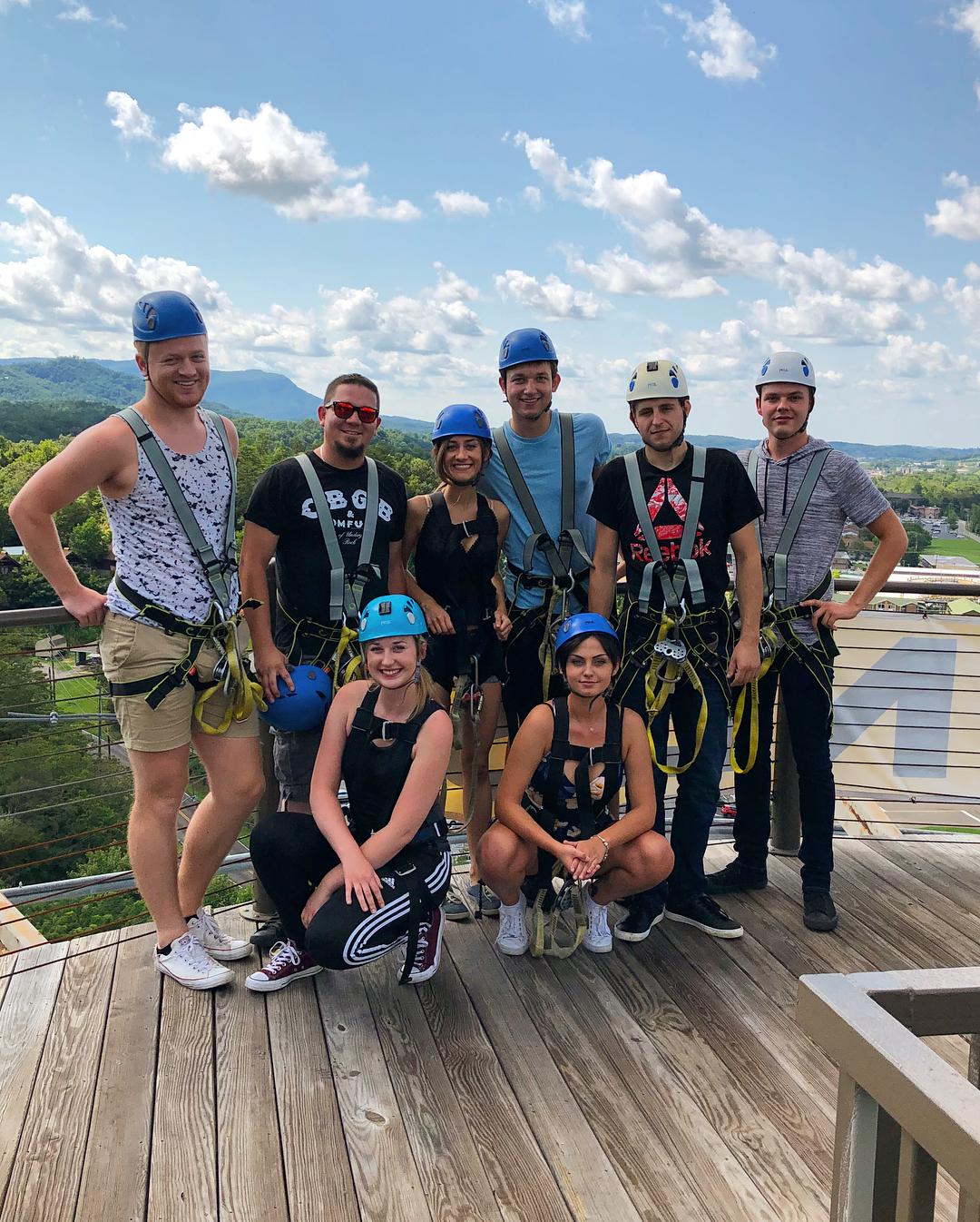 Pigeon Forge Things To Do - The Dome Ziplines - Original Photo