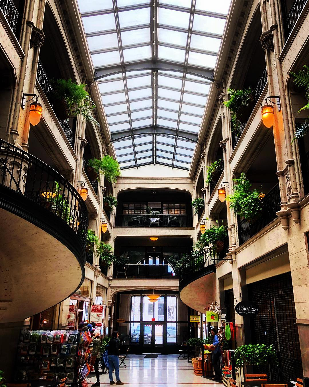 Asheville Things To Do - The Grove Arcade Public Market - Original Photo