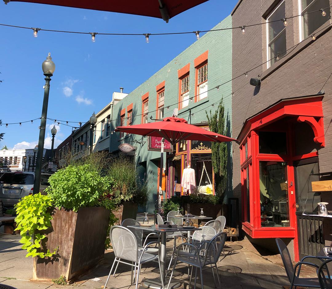 Asheville Restaurants - The Market Place - Original Photo