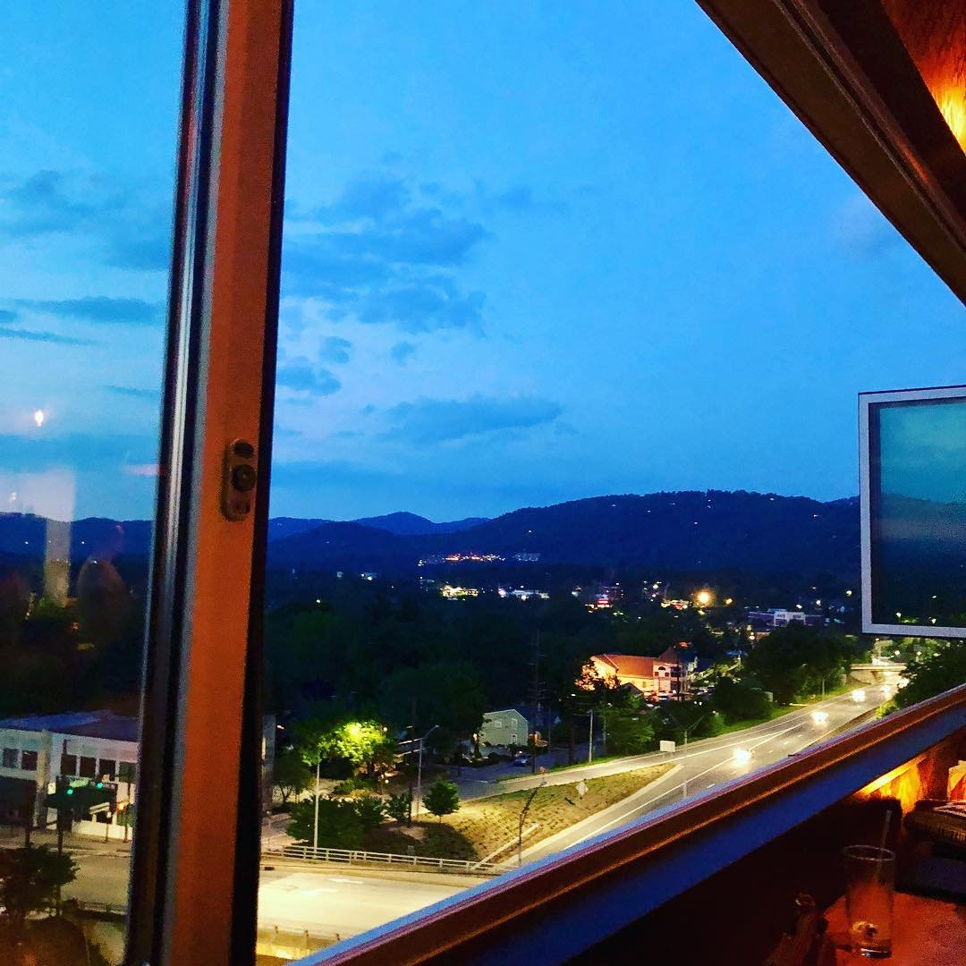 Asheville Breweries - The Montford Rooftop Bar - Original Photo