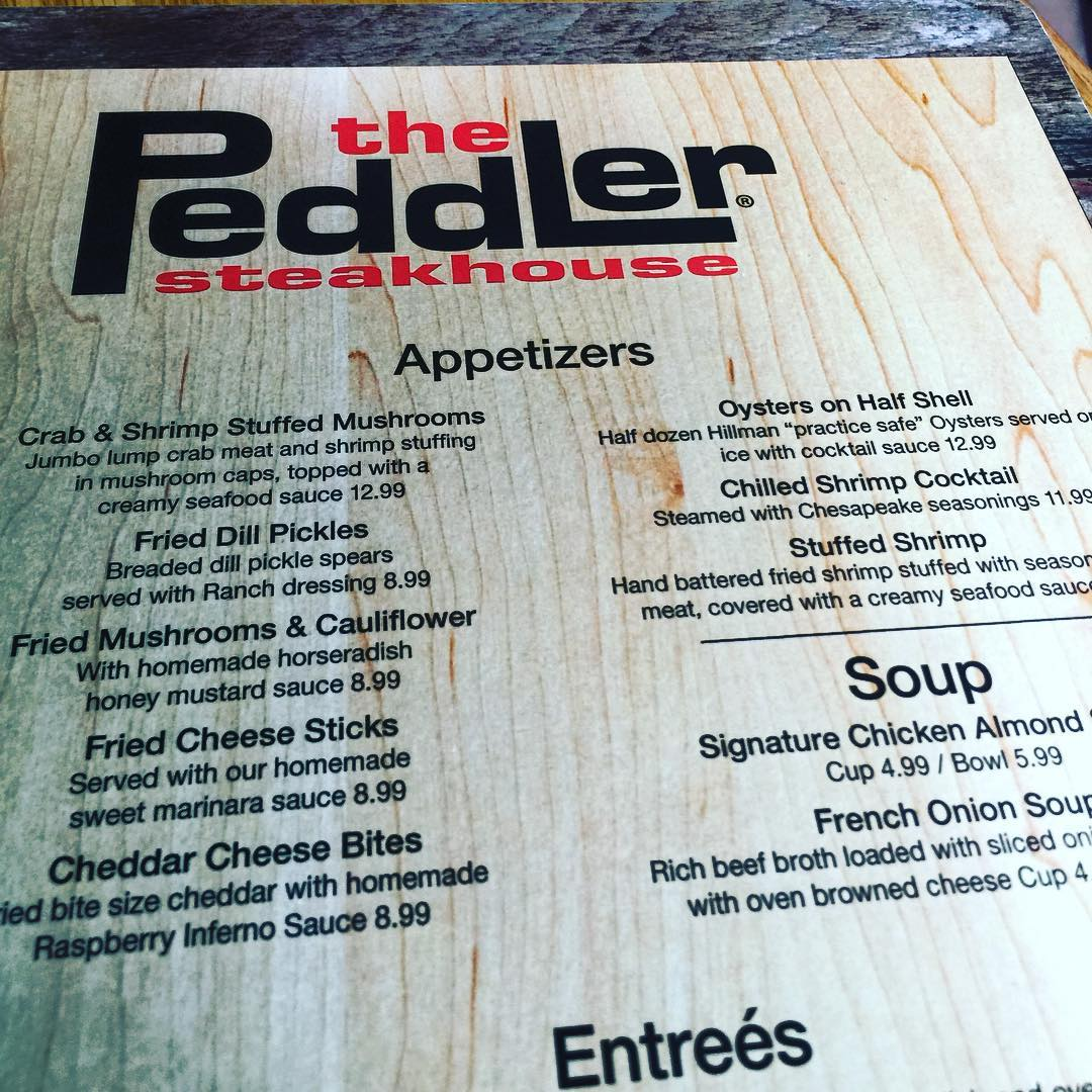 Gatlinburg Restaurants - The Peddler - Original Photo