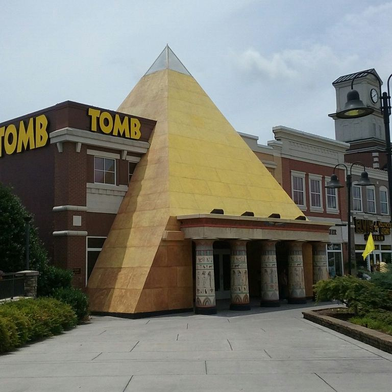 Pigeon Forge Things To Do - The Tomb - Original Photo