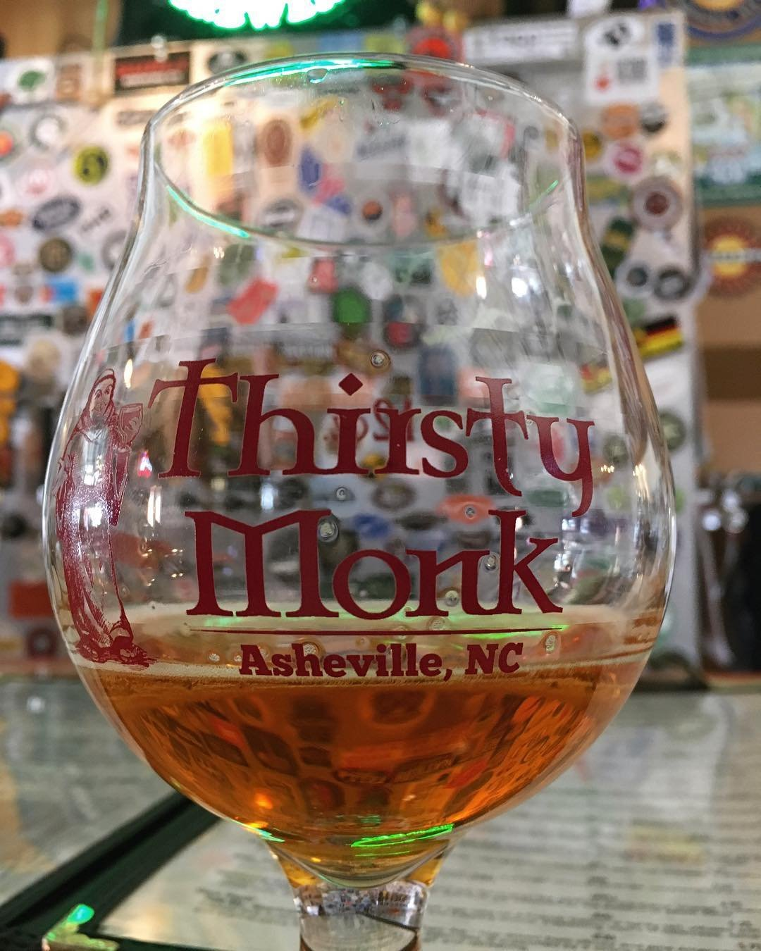 Asheville Breweries - Thirsty Monk Downtown - Original Photo
