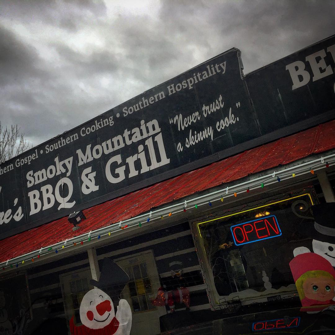 Sevierville Restaurants - Tony Gore's Smoky Mountain BBQ - Original Photo