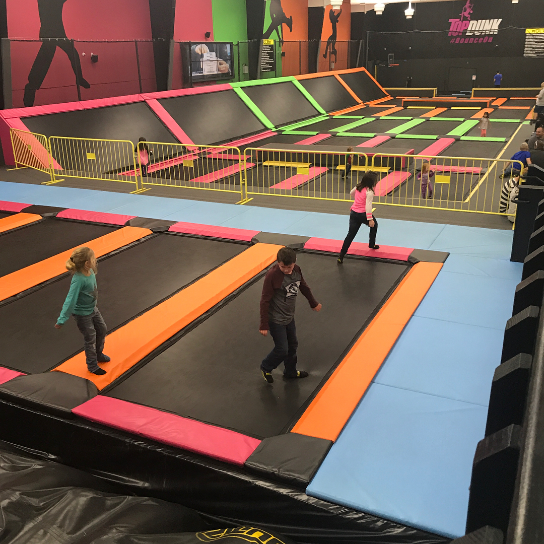 Pigeon Forge Things To Do - TopJump Trampoline Park - Original Photo