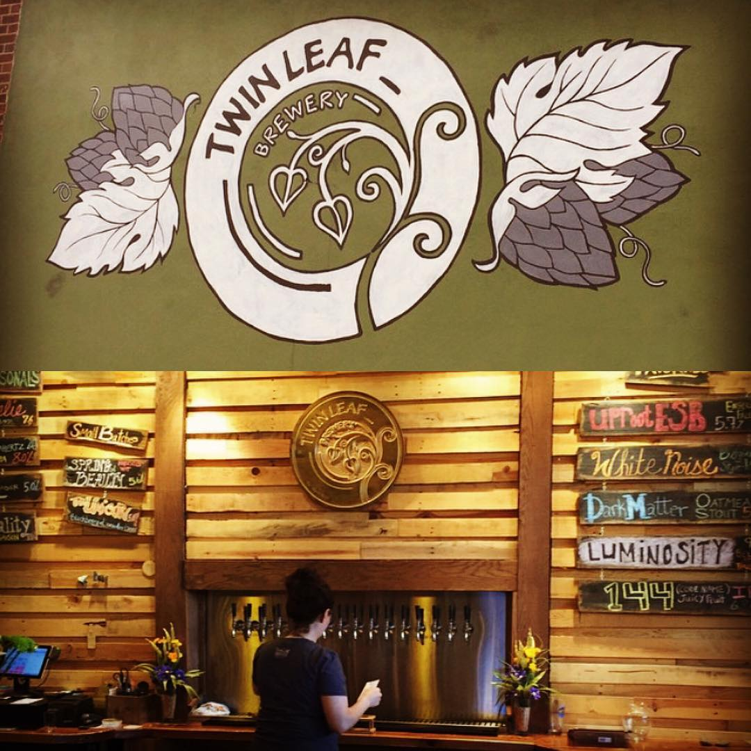 Asheville Breweries - Twin Leaf Brewery - Original Photo