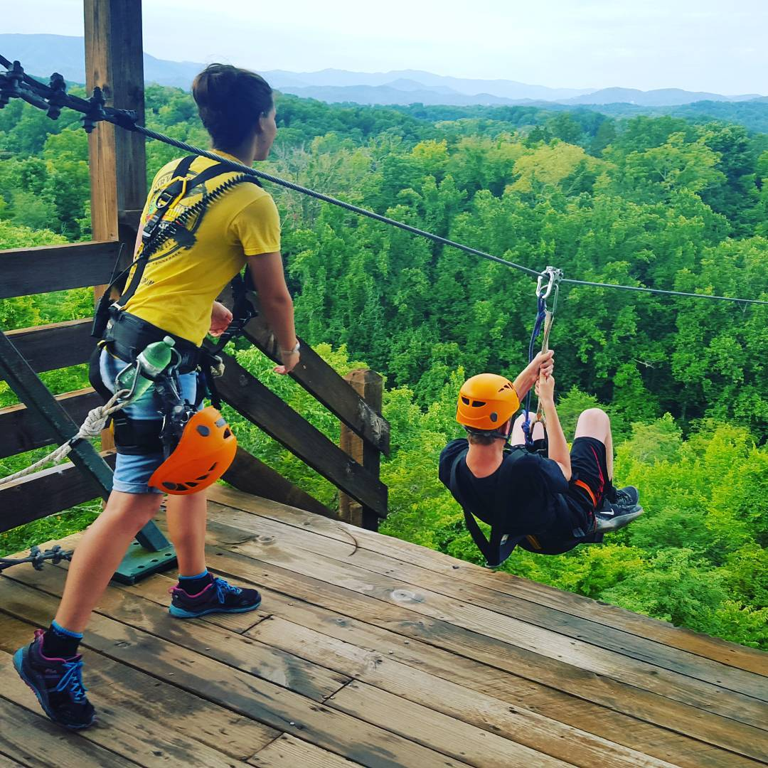 Sevierville Things To Do - Wahoo Ziplines - Original Photo