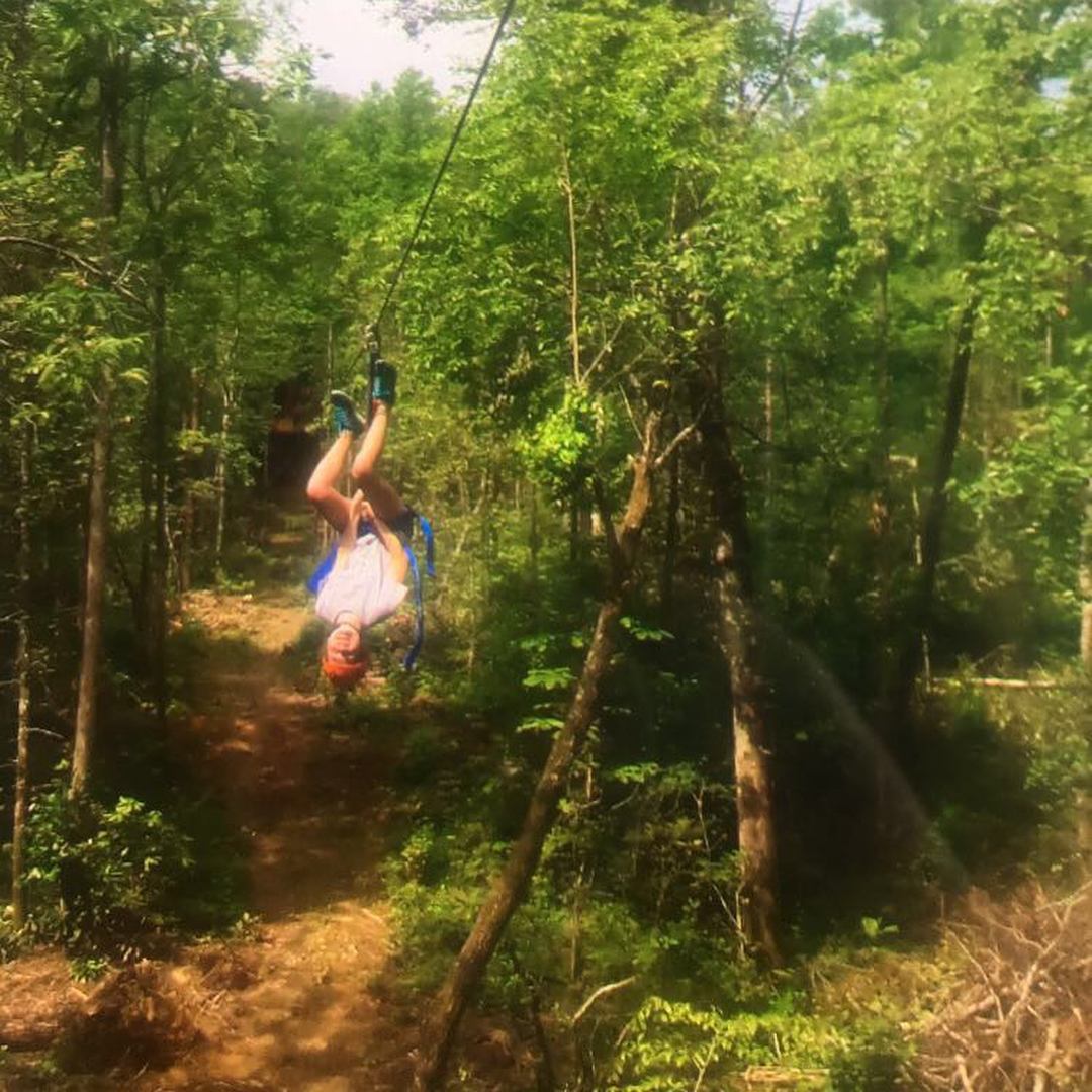 Gatlinburg Things To Do - White Oak Ziplines - Original Photo