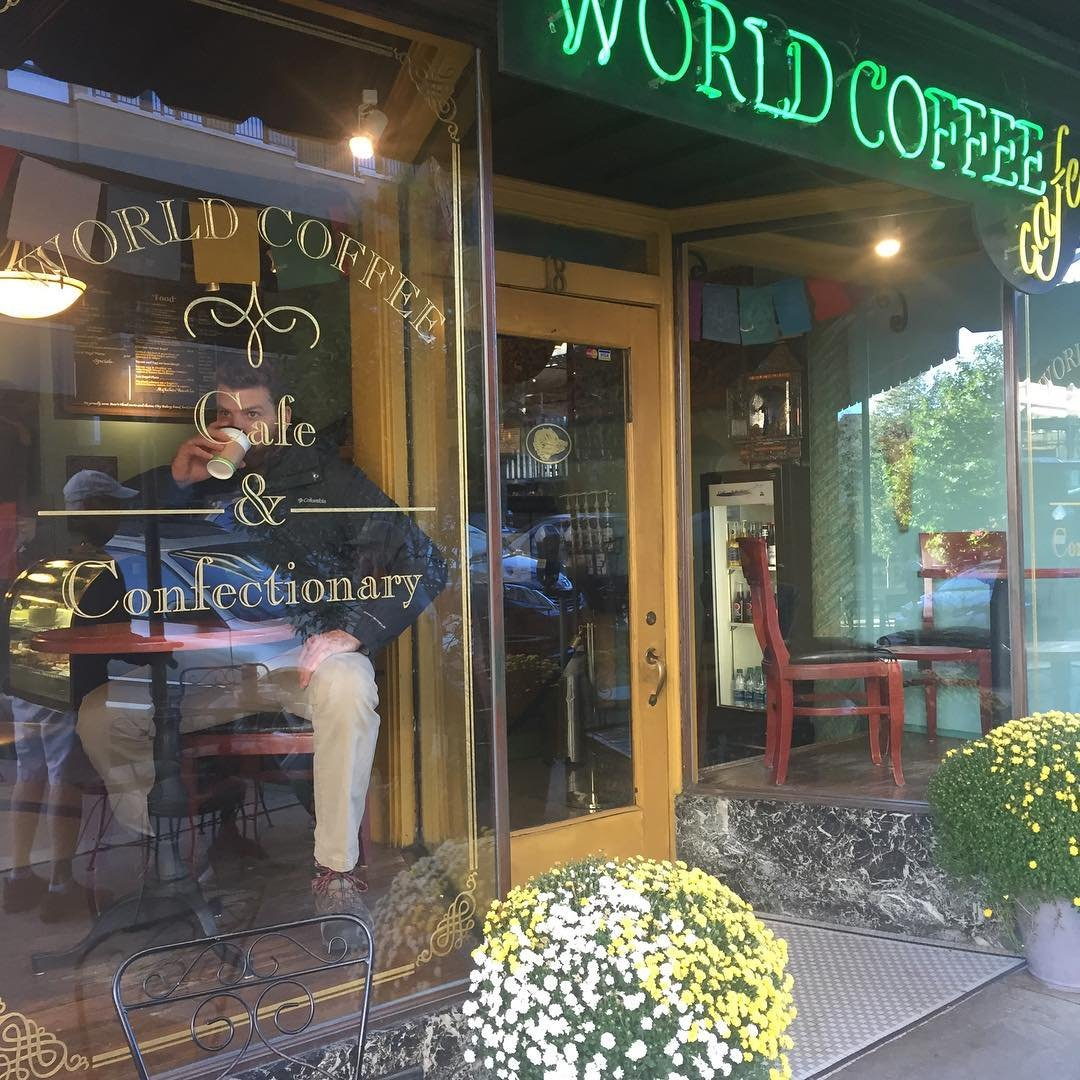 Asheville Restaurants - World Coffee Cafe - Original Photo