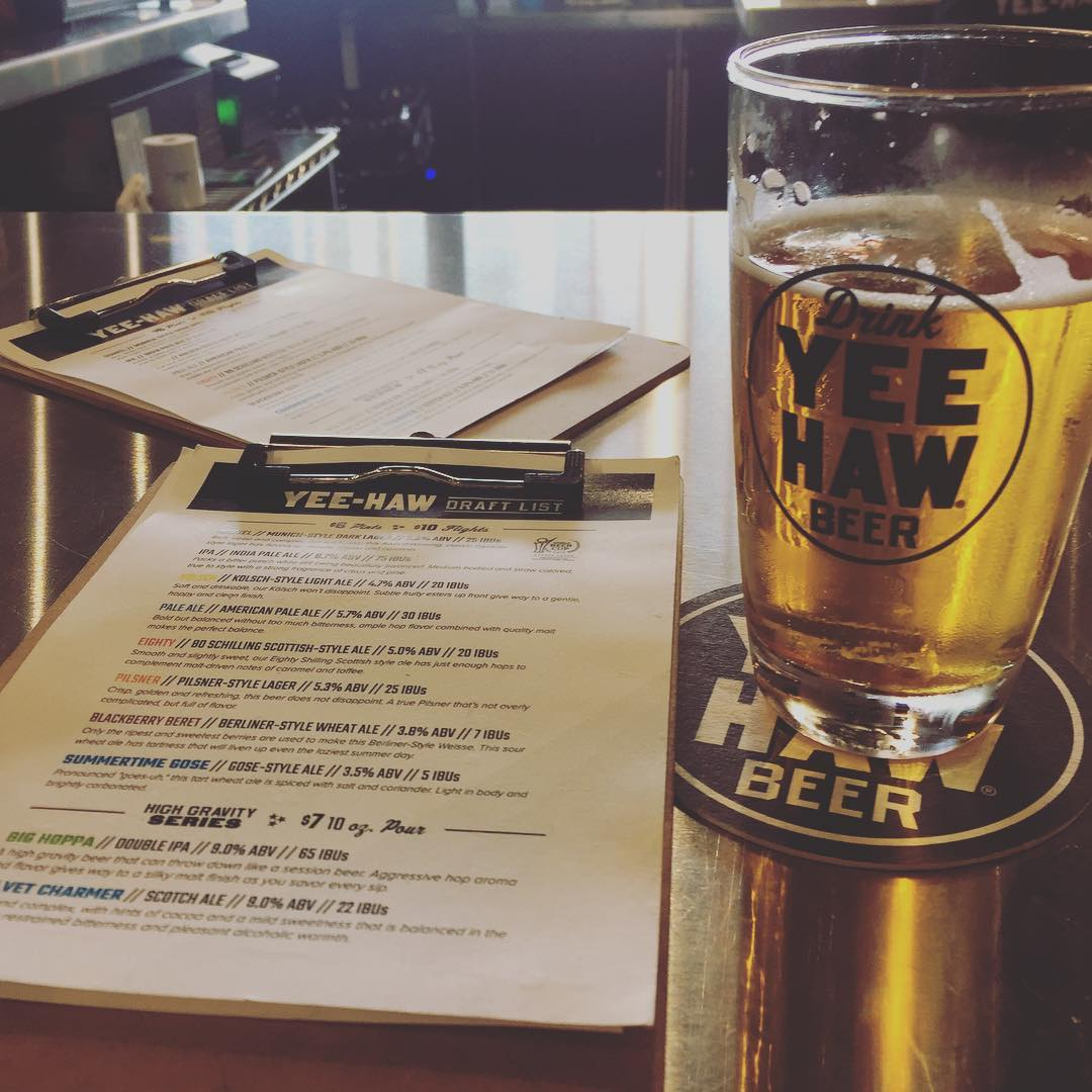 Pigeon Forge Restaurants - Yee-Haw Brewing Company - Original Photo