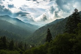 National Park - The Boulevard Trail to Mount LeConte