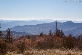 National Park - Andrews Bald Hiking Trail
