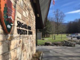 National Park - Sugarlands Visitor Center