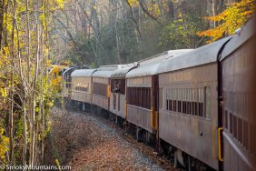 National Park - Great Smoky Mountain Railroad: A Relaxing Daytrip