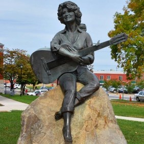 All - Dolly Parton Statue
