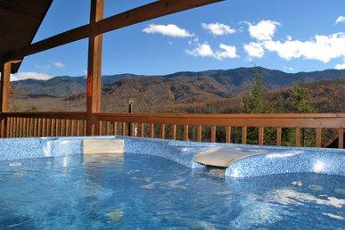Bearway To Heaven, 1 Bedroom, View, Pool Table, Hot Tub, Wifi, Sleeps 4