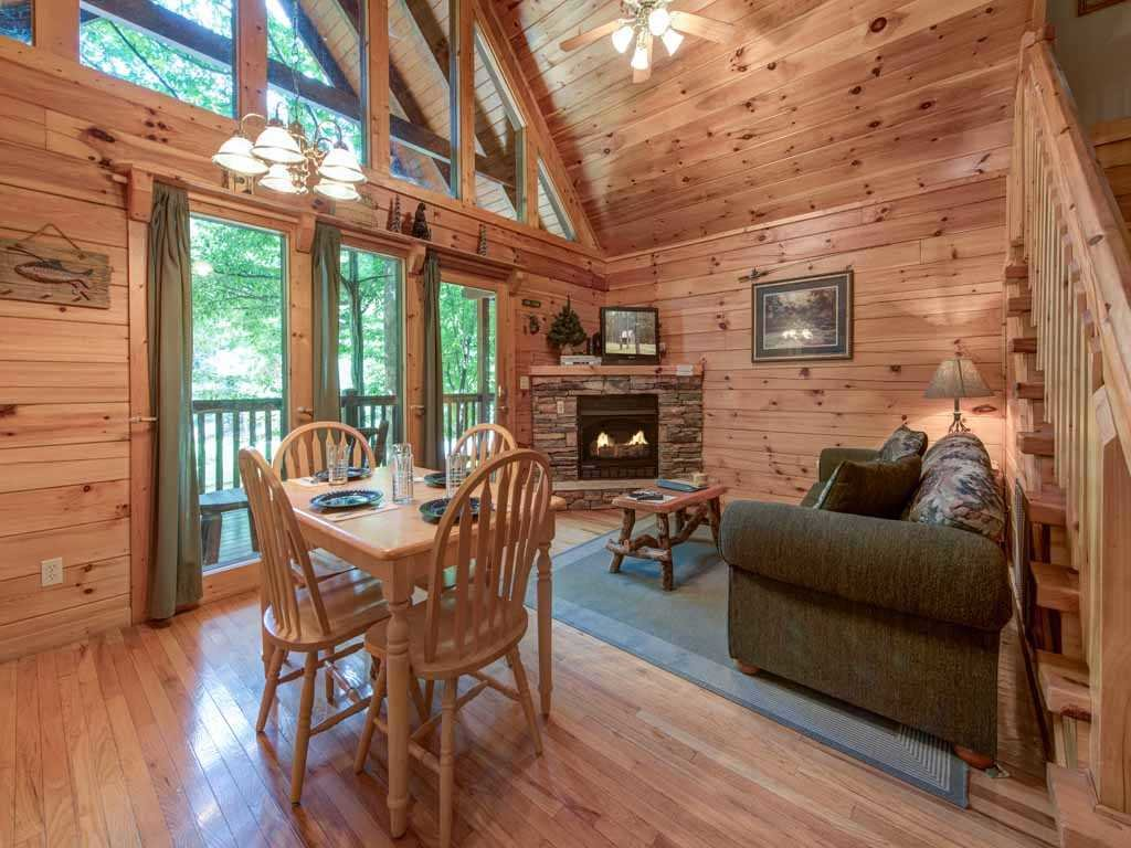 Photo of a Gatlinburg Cabin named Beyond The Pond - This is the first photo in the set.