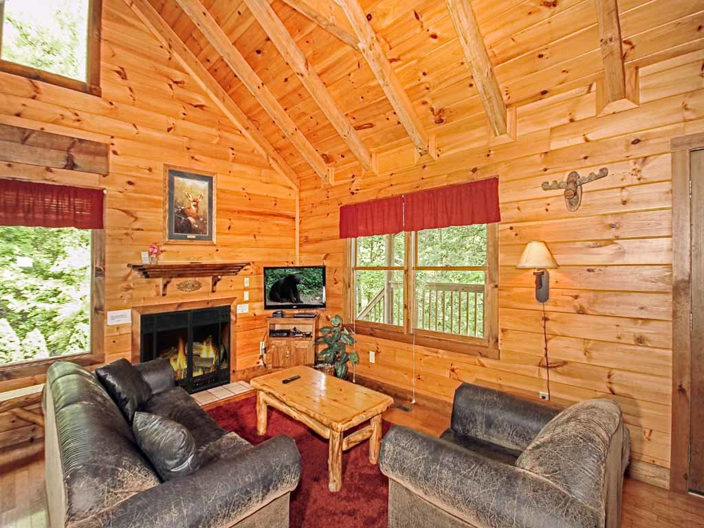 Photo of a Gatlinburg Cabin named Fawn Cabin - This is the fifth photo in the set.