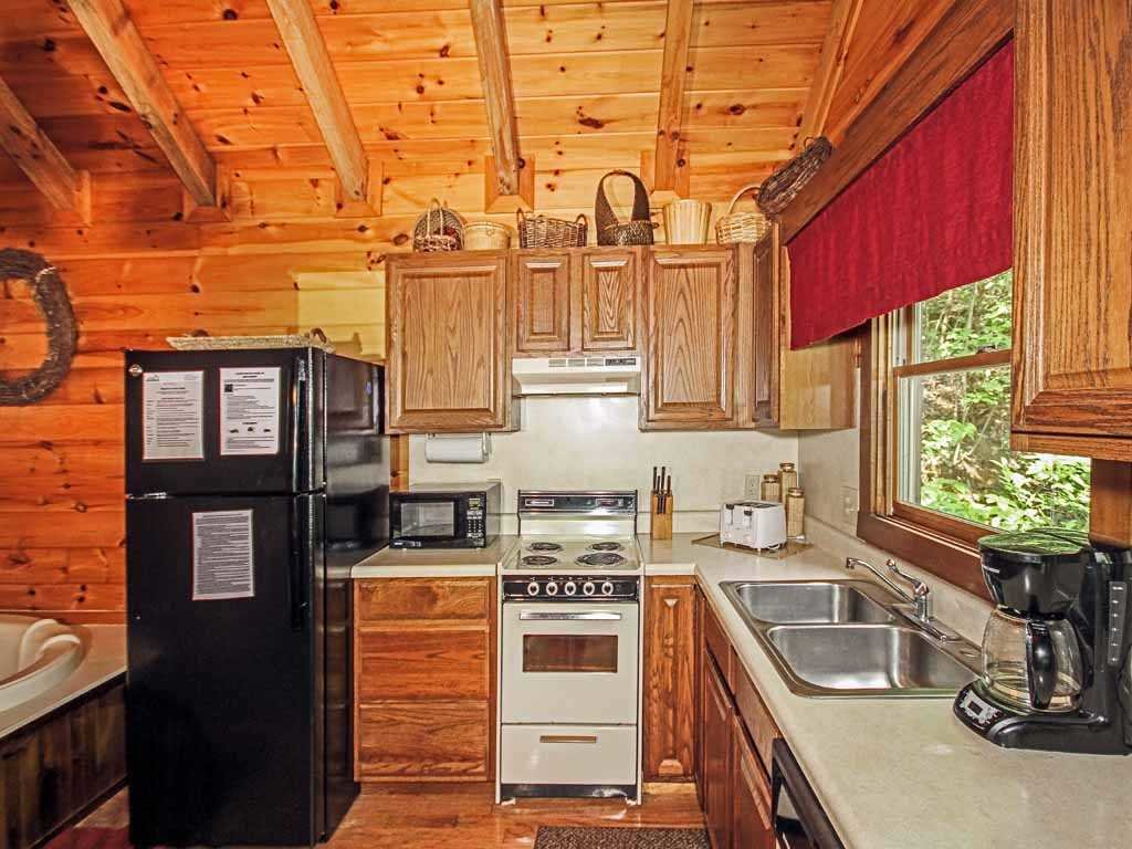 Photo of a Gatlinburg Cabin named Fawn Cabin - This is the eighth photo in the set.