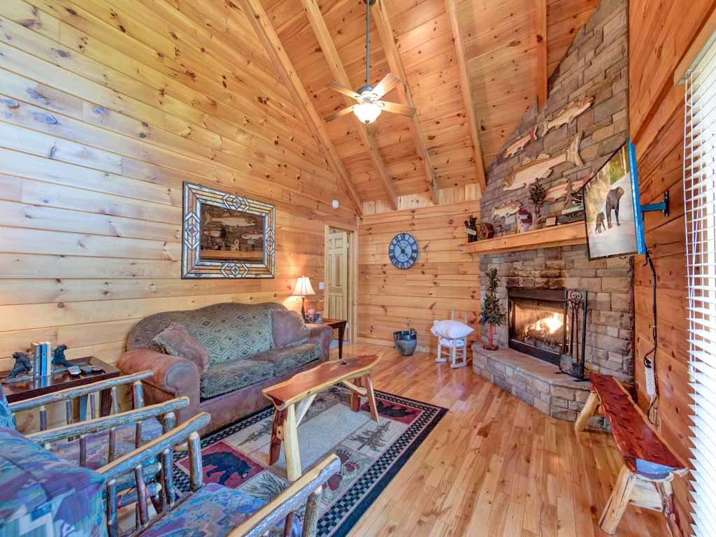Bear Necessities Cabin In Gatlinburg W 1 Br Sleeps8