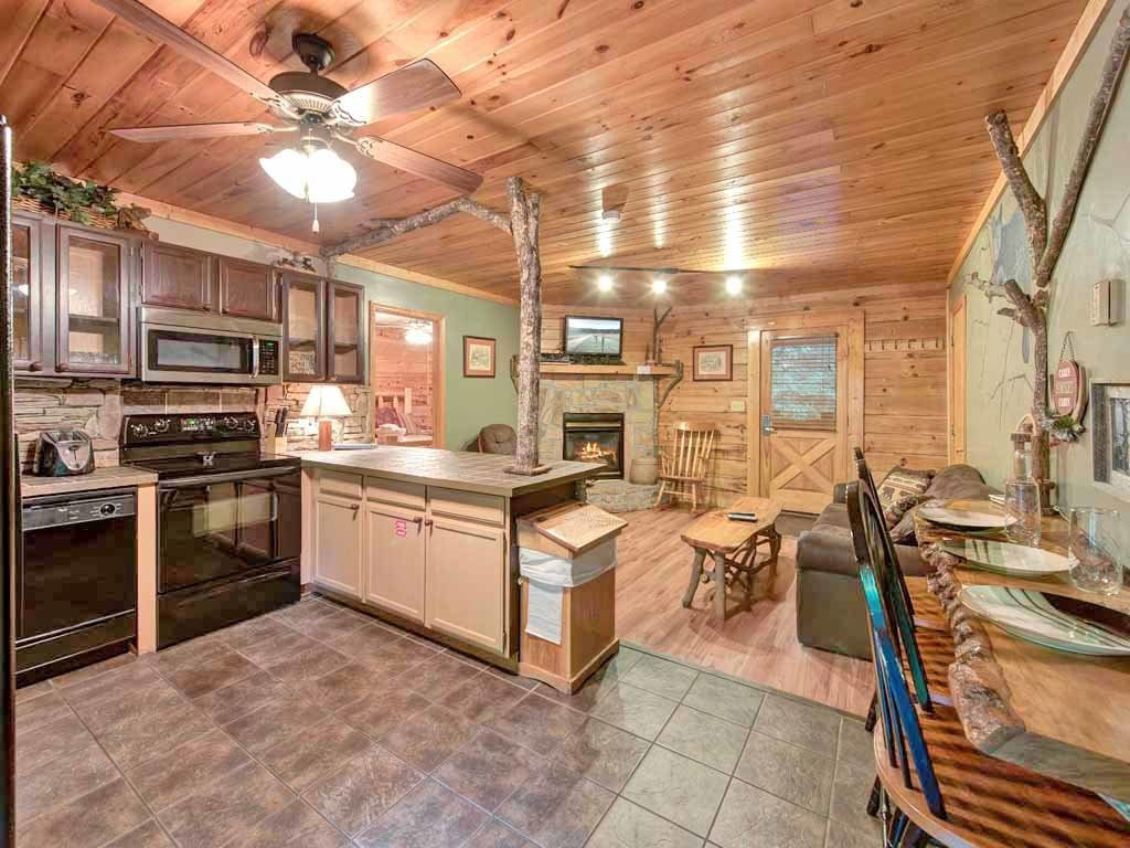 Photo of a Gatlinburg Cabin named Magical Moments - This is the fourth photo in the set.