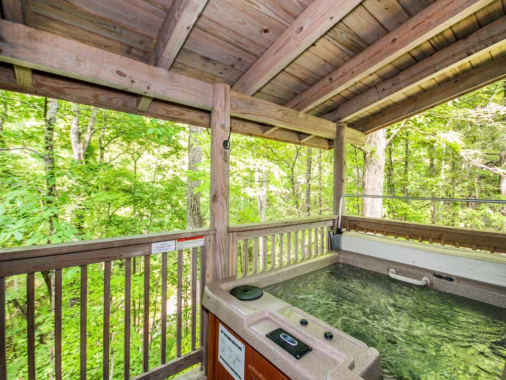 Photo of a Gatlinburg Cabin named Buckhorn - This is the third photo in the set.