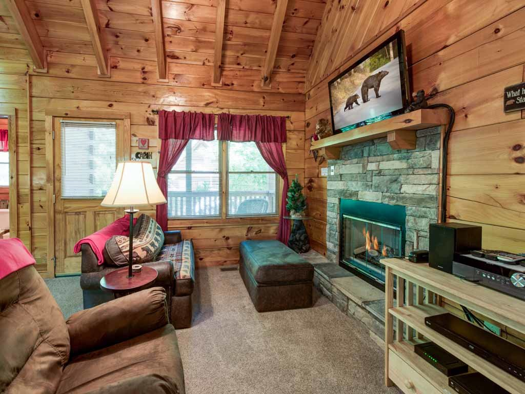 Photo of a Gatlinburg Cabin named A Chance For Romance - This is the first photo in the set.