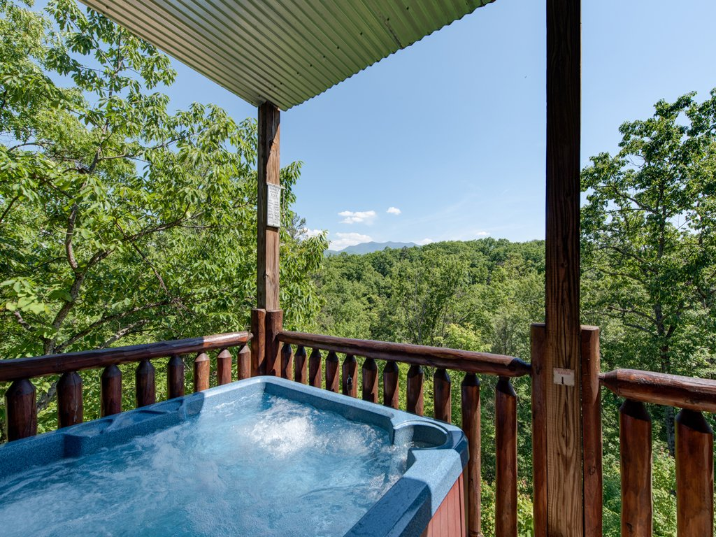 Photo of a Gatlinburg Cabin named Away In The Mountains - This is the fourth photo in the set.