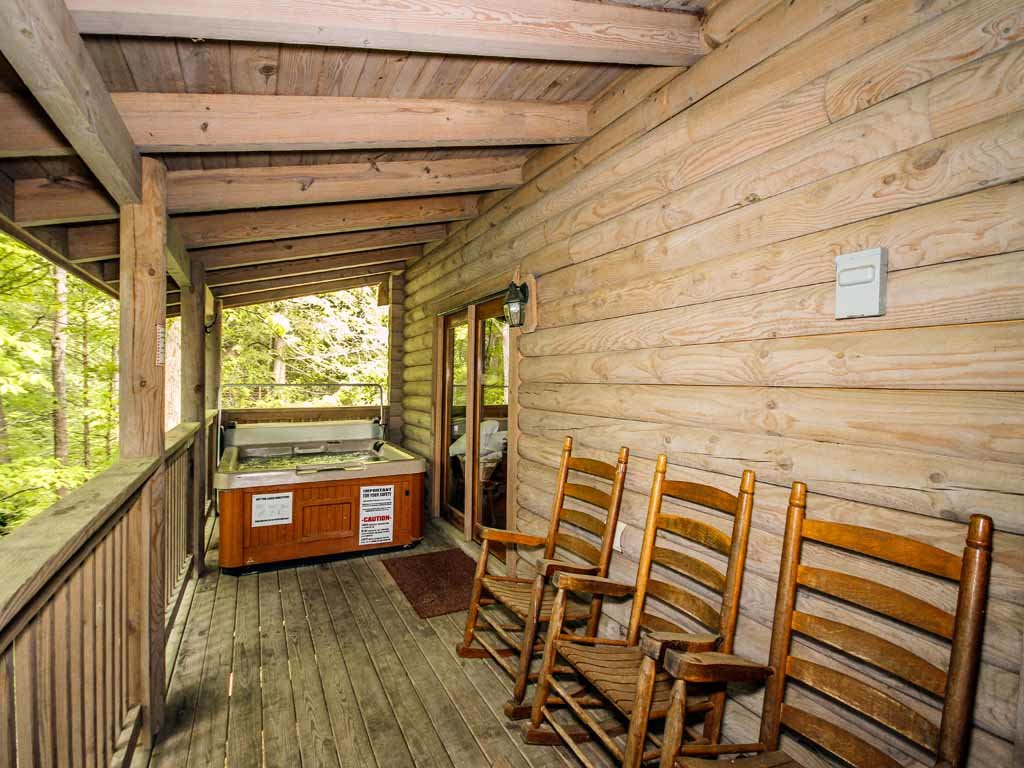 Photo of a Gatlinburg Cabin named Buckhorn - This is the twenty-second photo in the set.