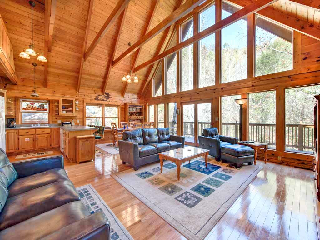 Photo of a Gatlinburg Cabin named Amazing River Retreat - This is the first photo in the set.