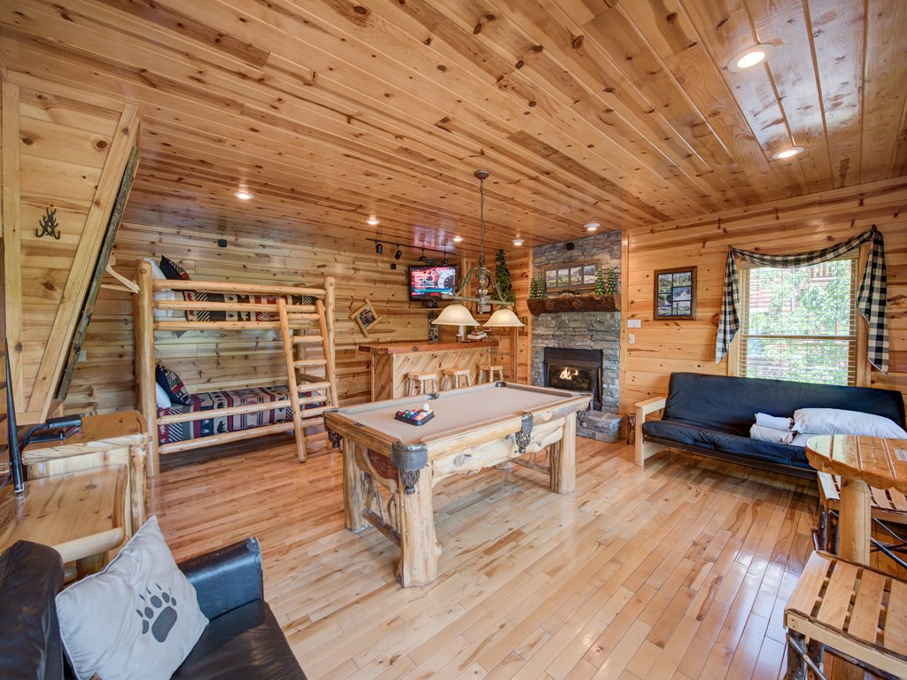 Photo of a Gatlinburg Cabin named Away In The Mountains - This is the seventh photo in the set.