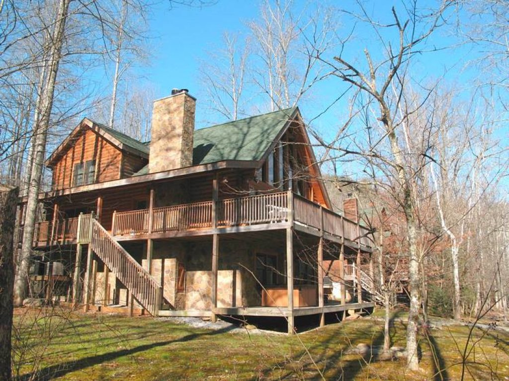 Photo of a Gatlinburg Cabin named Amazing River Retreat - This is the twenty-seventh photo in the set.